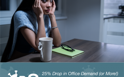 25% Drop in Office Demand (or More!): Office Transformation COVID-19